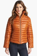 Rainforest Zip Off Sleeve Down Jacket - Lyst