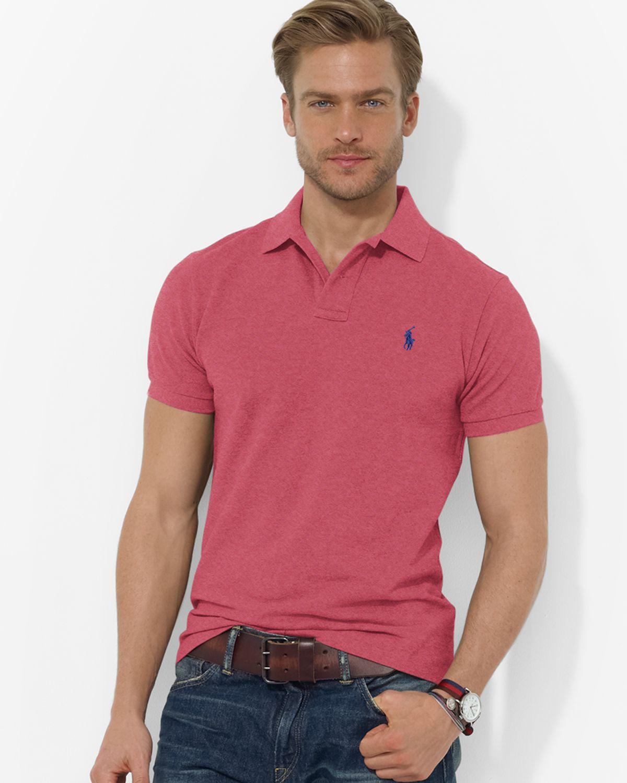 Lyst Ralph Lauren Polo Classicfit Short Sleeved Cotton