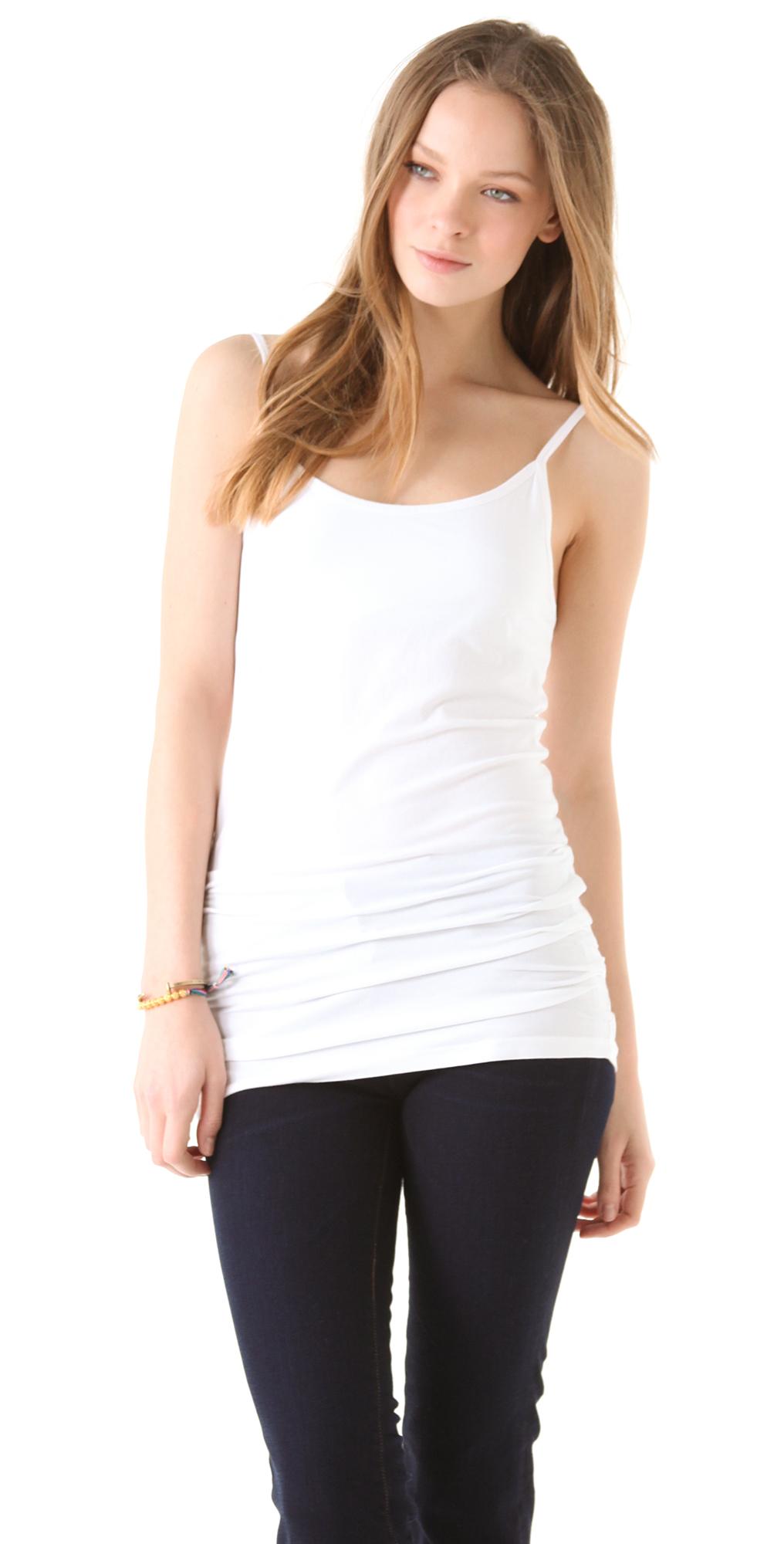 PACT Women's Everyday Organic Cotton Shelf-Bra Camisole