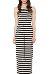 Whistles Lillian V Back Maxi Dress - Lyst