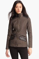 Barbour Dunberry Quilted Jacket - Lyst