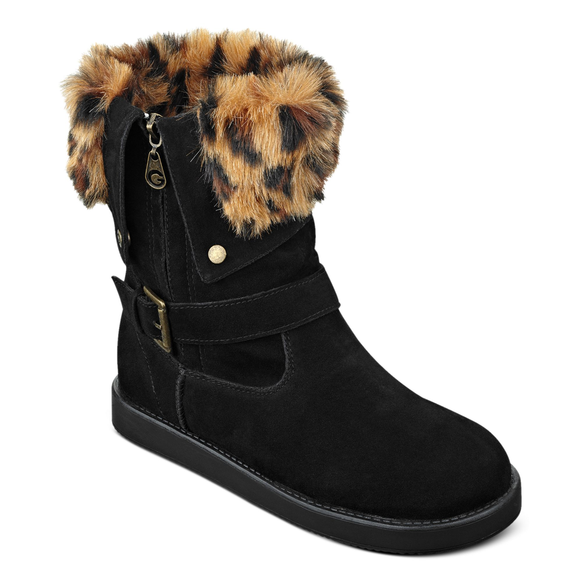 G By Guess Womens Boots Amaze Fauxfur Cold Weather