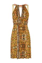 Matthew Williamson Embroidered Animal Jersey Dress - Lyst
