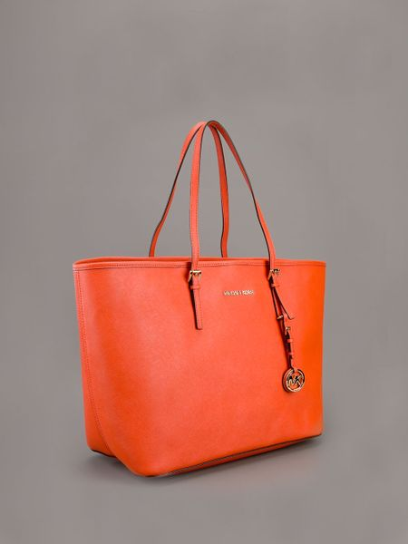 Michael Kors Tote Bag In Orange Lyst