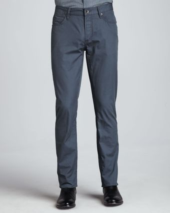John Varvatos Fivepocket Bowery Pants Blue - Lyst