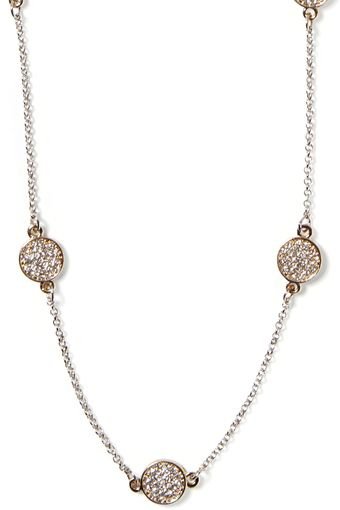 Banana Republic Sparkle Coin Necklace  - Lyst
