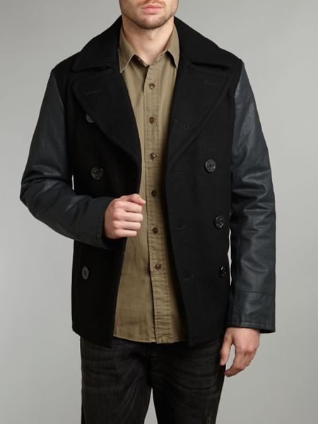 Sean John Men's Peacoat with Faux-Leather Sleeves out of 5 stars 4 customer reviews. Price: $ - $ & Free Return on some sizes and colors Select Size to see the return policy for the item H2H Mens Slim Fit Varsity Baseball Bomber Jacket of Various Styles out of 5 stars $ - /5(4).