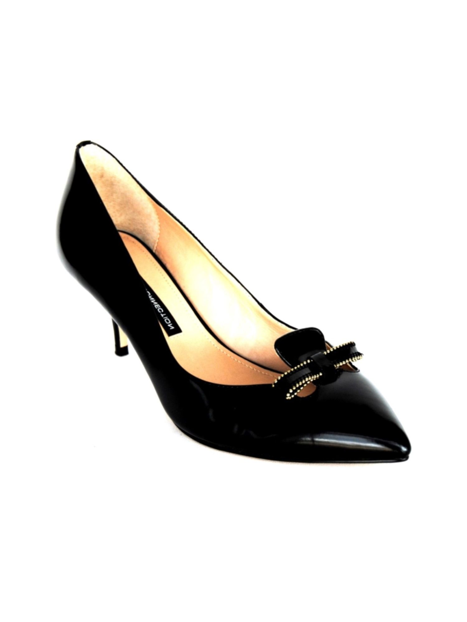 connection kitten heel shoes in black lyst
