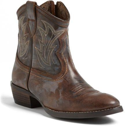 ariat billie boot in brown sassy brown lyst