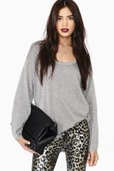 Nasty Gal Shine On Knit - Lyst