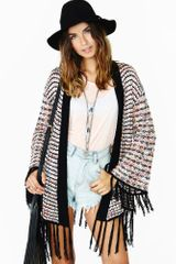 Nasty Gal Warm Welcome Cardi - Lyst