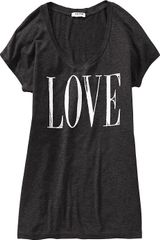 Old Navy Dolmansleeve Graphic Tees - Lyst