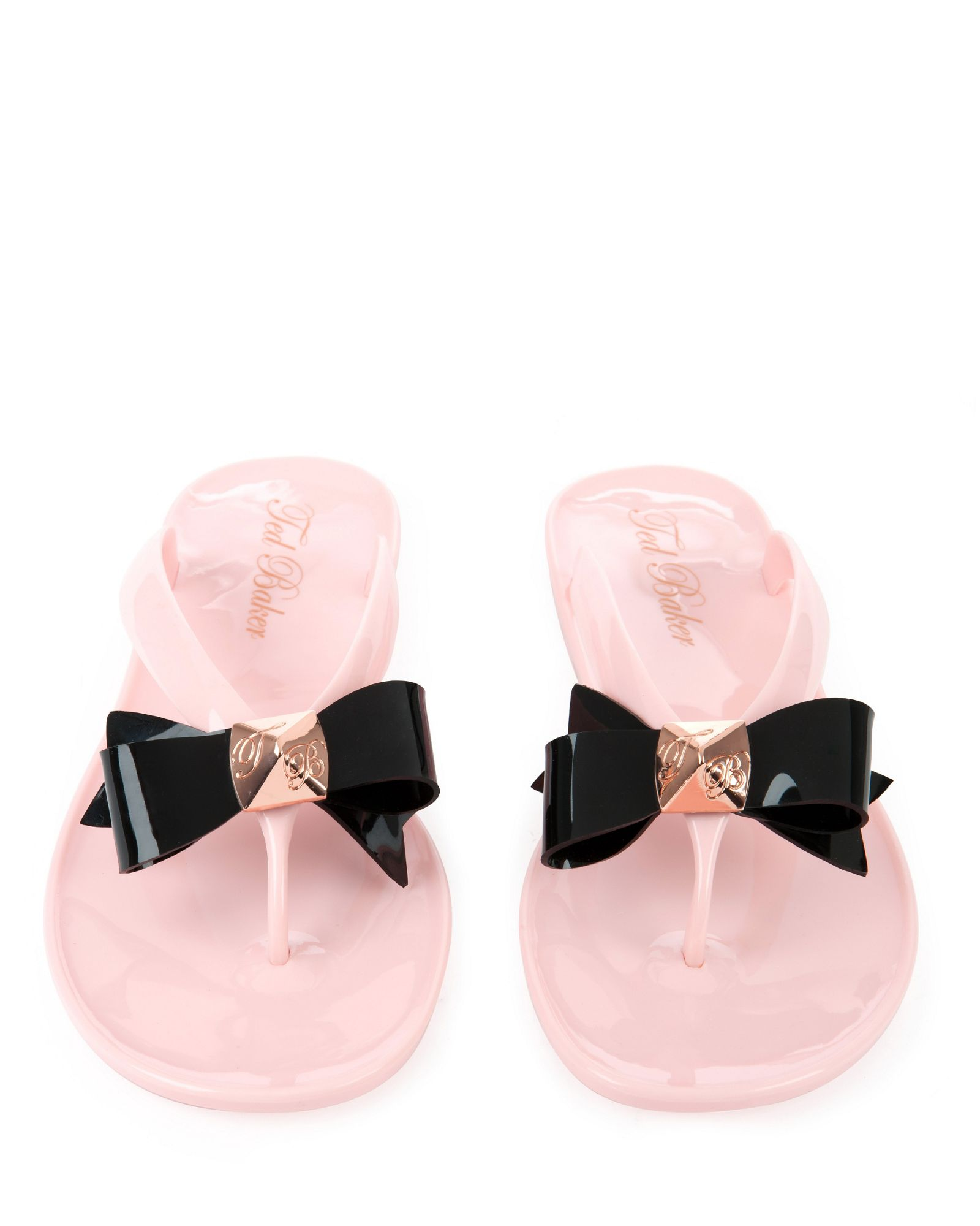 fc3ad73c118aa9 Ted baker Polee Bow Flip Flop in Pink