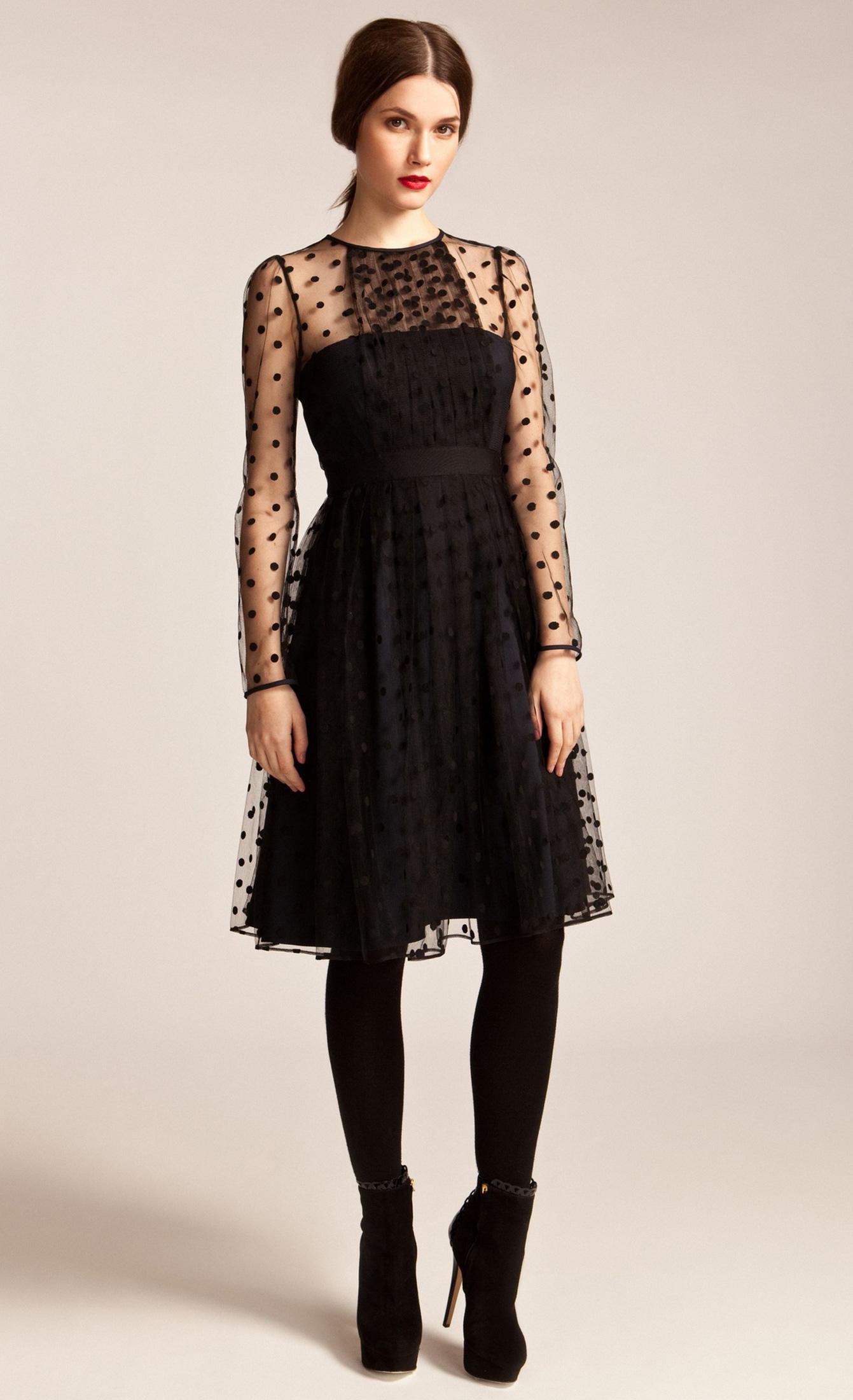 Lyst Temperley London Celia Dress In Black