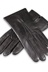 Black.co.uk Mens Cashmere Lined Leather Gloves - Lyst