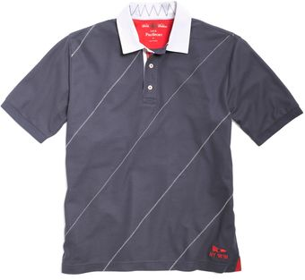 Brooks Brothers Prosport Diagonal Stitch Sailing Polo - Lyst