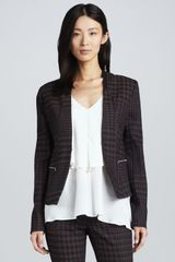 Cut25 Houndstooth Twill Jacket - Lyst