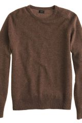 J.Crew Tall Lambswool Crewneck Sweater - Lyst