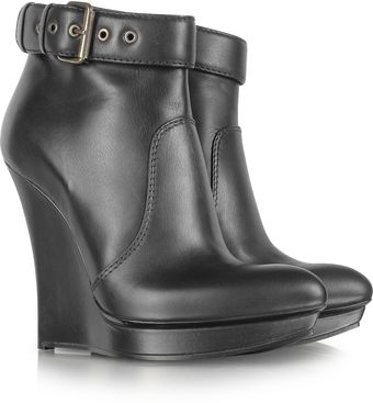 McQ by Alexander McQueen Black Biker Slimwedge Boot - Lyst