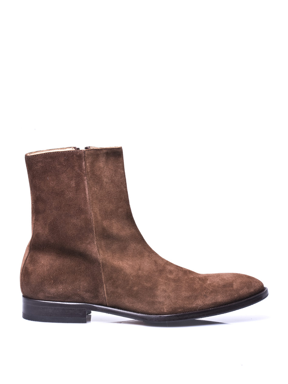 mr hare suede chelsea boots in brown lyst