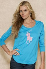 Pink Pony Long Sleeved Tee - Lyst