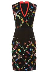 Preen Avalon Crystal Embellished Dress - Lyst