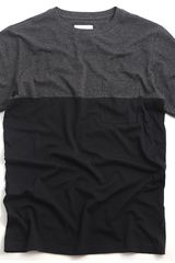 Saturdays Surf Nyc Randall Color Block Crewn Black - Lyst