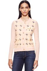 Tory Burch Sally Cardigan - Lyst