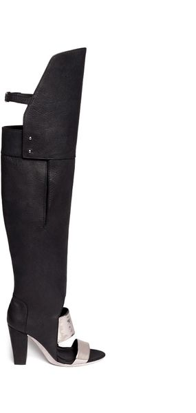 3.1 Phillip Lim Ora Over The Knee Boot Sandals - Lyst