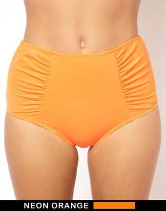 Asos Mix and Match High Waisted Bikini Pant - Lyst
