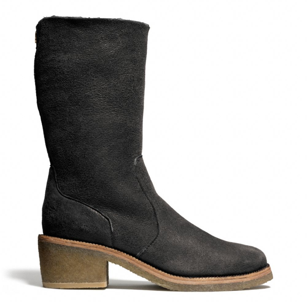 coach patsy boot in black black black lyst