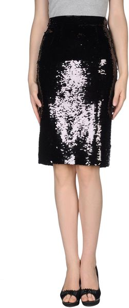 Dolce & Gabbana Knee Length Skirt - Lyst