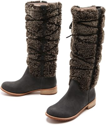Matt Bernson Alpenglow Shearling Shaft Boots - Lyst