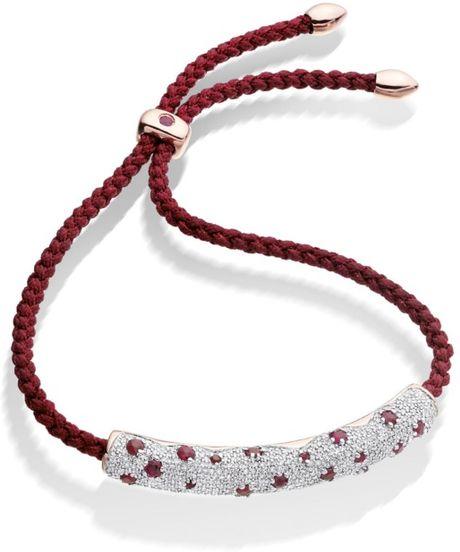 monica vinader esencia diamond pave friendship bracelet in. Black Bedroom Furniture Sets. Home Design Ideas