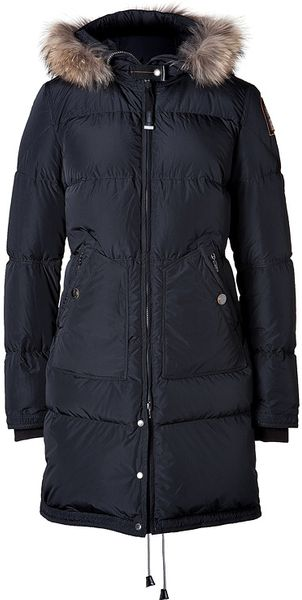 Parajumpers Lightweight Long Bear Parka in Black - Lyst