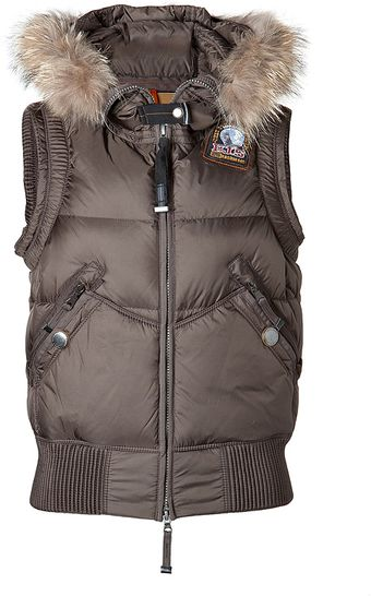 Parajumpers Bear Down Vest in Antique Bronze - Lyst