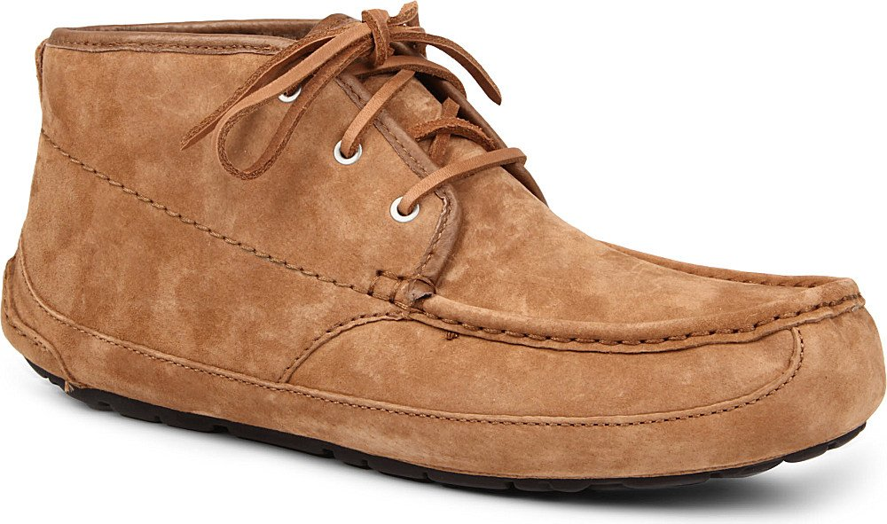 ugg lyle moc chukka boots in brown for lyst