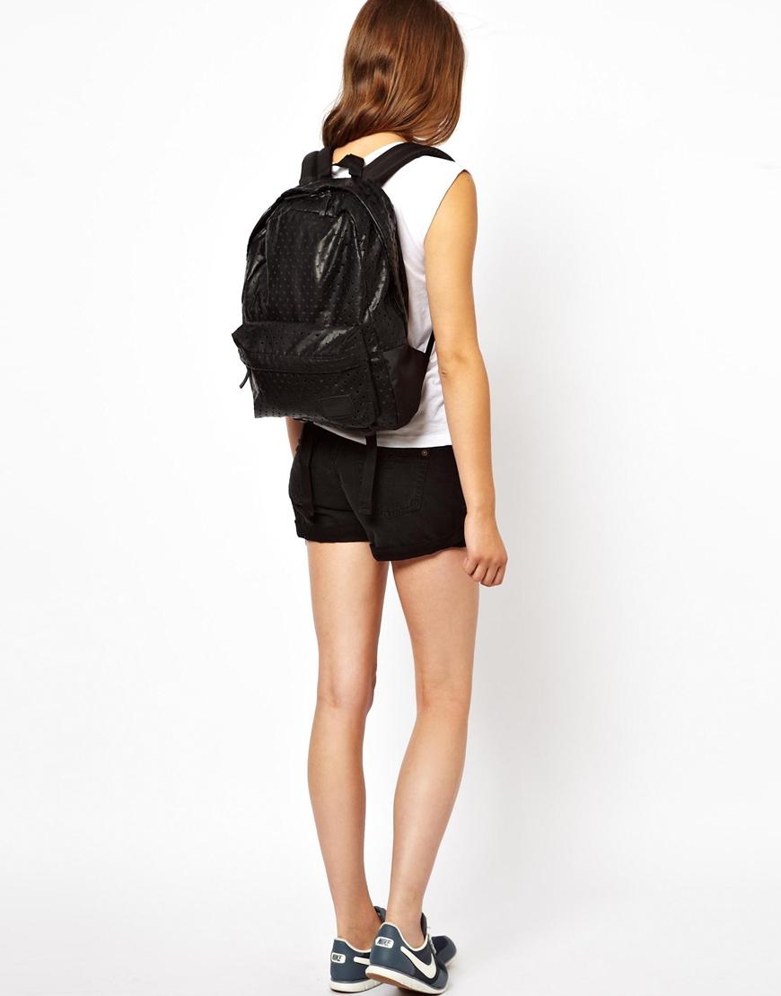 68996de0ffbba5 Lyst - Vans Deana Black Heart Backpack in Black
