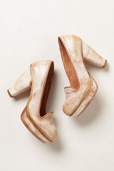 Bed Stu Briar Platforms in Beige (NUDE) - Lyst