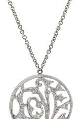 Cathy Waterman Diamond Small Love Charm Necklace - Lyst