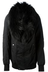 DRKSHDW by Rick Owens Faux Fur Jacket - Lyst