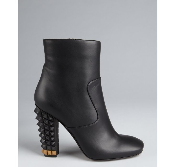 official for sale extremely sale online Fendi Leather Studded Ankle Boots cheapest clearance shop for NHiJAZ5