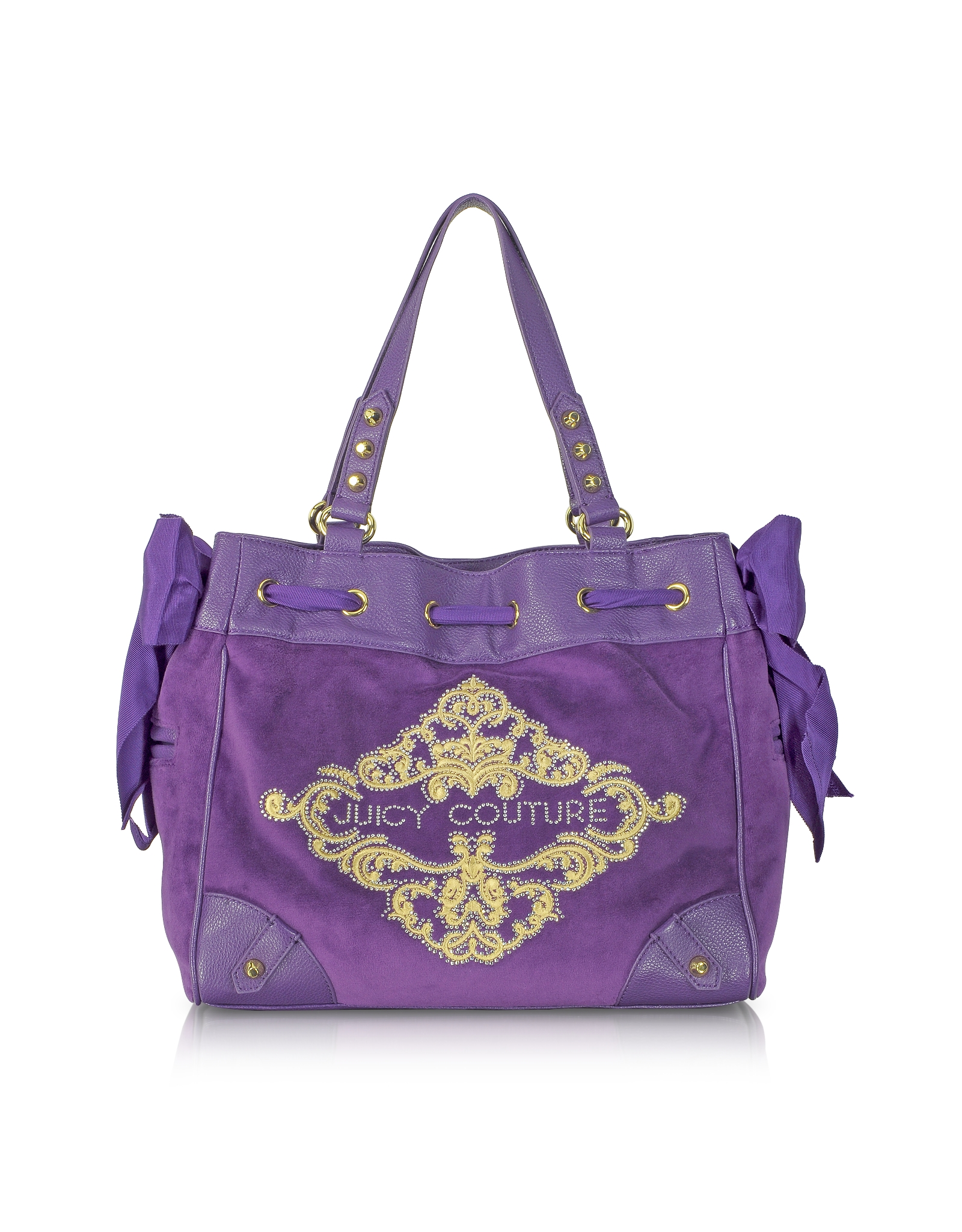 Juicy couture fashion velour daydreamer tote