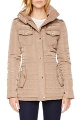 Michael by Michael Kors Quilted Puffer Jacket - Lyst