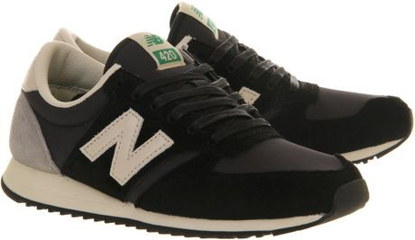 New Balance U420 Black Womens New Balance U420 in Black