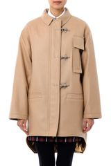 No 21 Wool Duffle Coat - Lyst