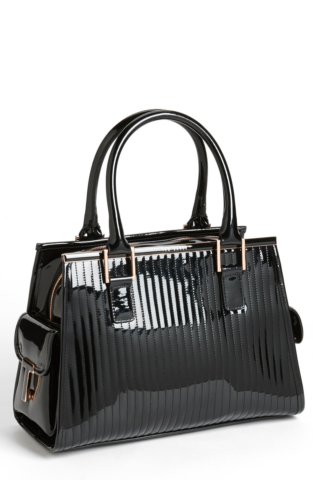 Lyst - Ted baker Jaide Quilted Tote in Black : ted baker quilted tote bag - Adamdwight.com