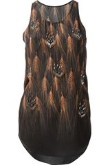 3.1 Phillip Lim Embellished Wheat Print Vest - Lyst