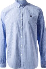 Fred Perry Checked Shirt - Lyst
