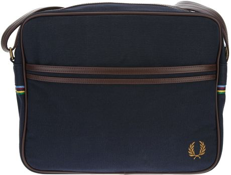 Fred Perry Wool Shoulder Bag 40
